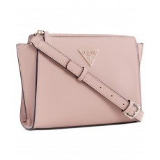 Guess crossbody kabelka Tangey pudrová