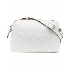 DKNY Tilly camera crossbody bag bílá