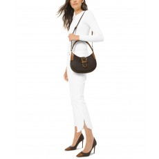 Michael Kors Lillian shoulder bag kabelka logo brown