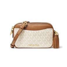 Michael Kors covertible logo crossbody ledvinka vanilla 2 v 1