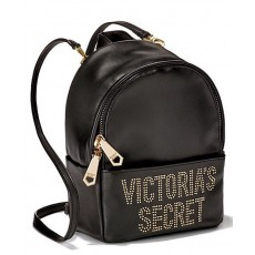 Victoria´s Secret glam rock mini city backpack black
