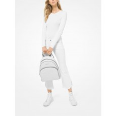 Michael Kors batoh Abbey large backpack bright white