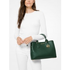 Michael Kors kabelka Camille large pebble leather moss zelená