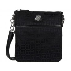 Tommy Hilfiger In Chains crossbody black silver