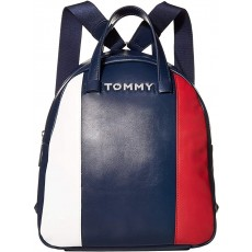 Tommy Hilfiger batoh Florence smooth pvc navy/red/white
