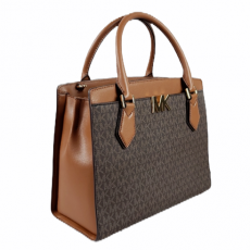 Kabelka Michael Kors Mott large signature brown