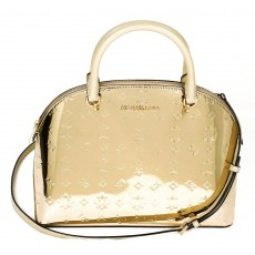 Michael Kors kabelka Emmy large satchel metallic pale gold