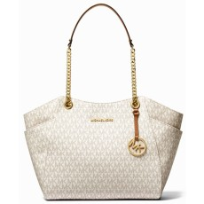 Michael Kors kabelka jet set travel large chain vanilla