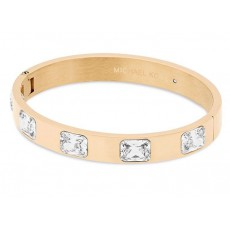 Michael Kors náramek bangle crystals gold tone MKJ6236710
