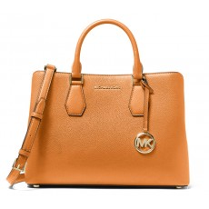 Michael Kors kabelka Camille large pebble leather cider žlutá