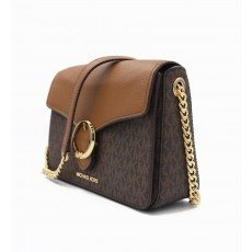 Kabelka Michael Kors Wanda medium signature brown