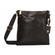 Tommy Hilfiger crossbody Julianne smooth pvc černá