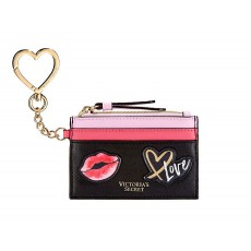 Victoria´s Secret card case mini peněženka black