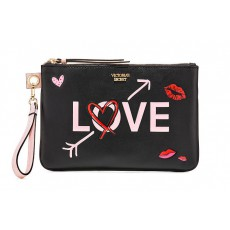 Victoria´s Secret černý wristlet Love