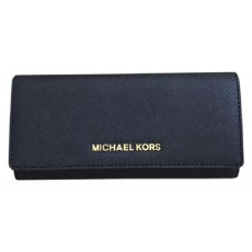 Michael Kors peněženka jet set travel carryall black