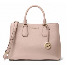 Michael Kors kabelka Camille large pebble leather pink