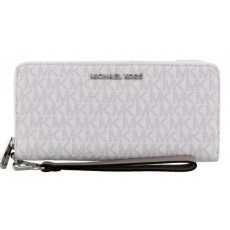 Peněženka Michael Kors jet set travel Continental bright white