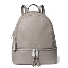 Batoh Michael Kors Rhea medium pearl gray šedý