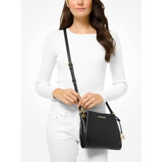 Michael Kors crossbody Nicole slim triple leather černá