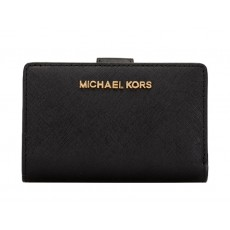 Peněženka Michael Kors Bifold medium leather black