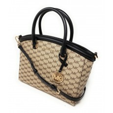 Kabelka Michael Kors Yara signature natural black
