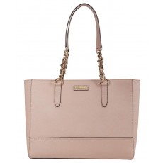 Calvin Klein Pindot Key item saffiano leather kabelka růžová pale rose