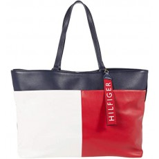 Tommy Hilfiger kabelka Isa smooth tote multi color