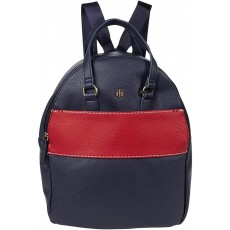 Tommy Hilfiger Blair medium pebble pvc batoh modrý