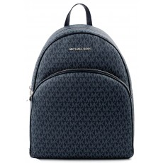 Michael Kors batoh Abbey large backpack logo navy modrý