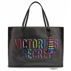 Victoria´s Secret Rainbow everything tote black