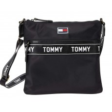 Tommy Hilfiger Allie crossbody smooth nylon černá
