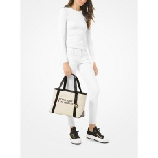 Michael Kors kabelka Tha Michael large canvas Los Angeles tote natural