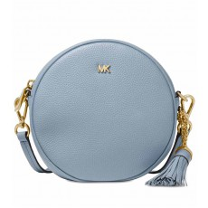 Michael Kors Canteen crossbody kabelka pale blue