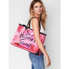 Victoria´s Secret Angel city tote python neon pink