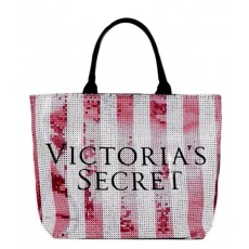 Victoria´s Secret taška black sequin large tote
