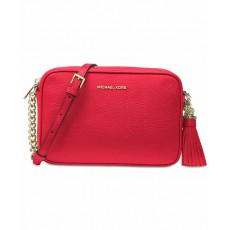Michael Kors Ginny medium camera bag red