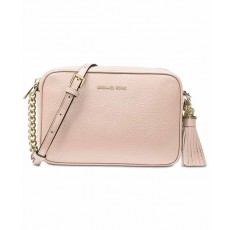 Michael Kors Ginny medium camera bag soft pink