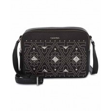 Calvin Klein crossbody studded camera black