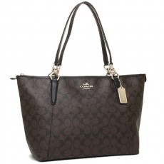 Coach kabelka Ava signature brown F58318