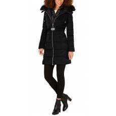Dámská bunda Guess puffer coat black
