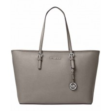 Michael Kors kabelka multifunction top zip pearl gray