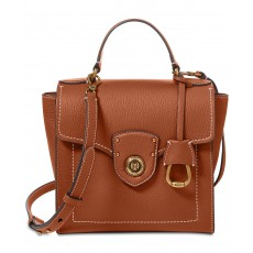 Ralph Lauren crossbody kabelka Millbrook top handle tan