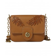 Ralph Lauren crossbody kabelka Millbrook chain field brown