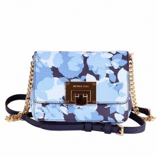 Michael Kors kabelka Tina small navy flower