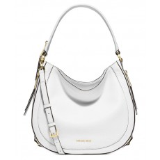 Kabelka Michael Kors Julia medium convertible optic white