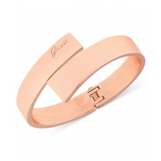 Guess náramek rose gold hinged bangle G4766760