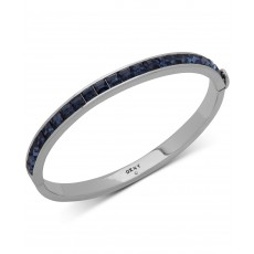 DKNY náramek square stone bangle navy 6820758