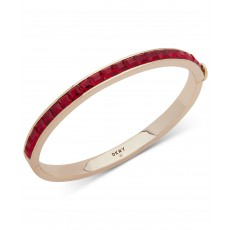 DKNY náramek square stone bangle red 6820757