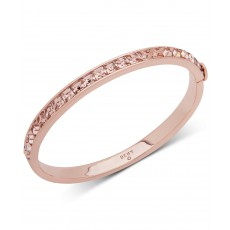 DKNY náramek square stone bangle pink 6820756
