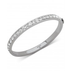 DKNY náramek square stone bangle silver 6820755